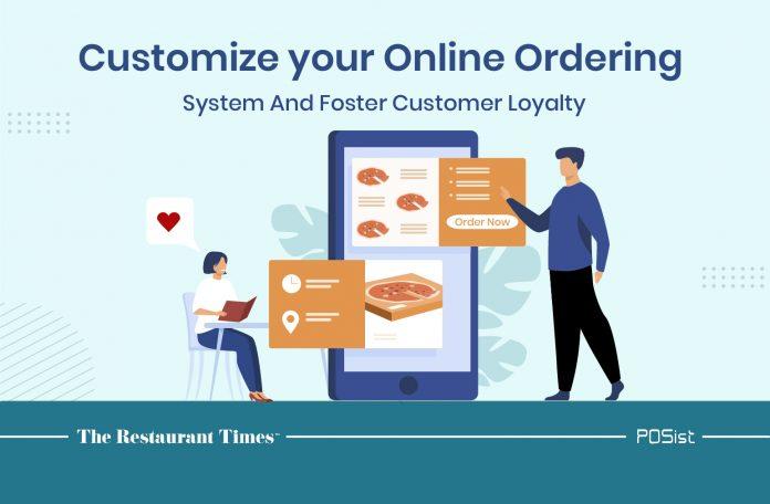 Online ordering system