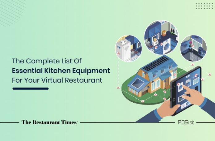 Kitchen Equipment List for Cloud Kitchens