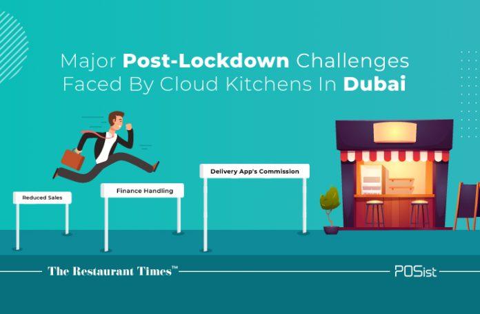 Post-lockdown challenges for Dubai Cloud Kitchens