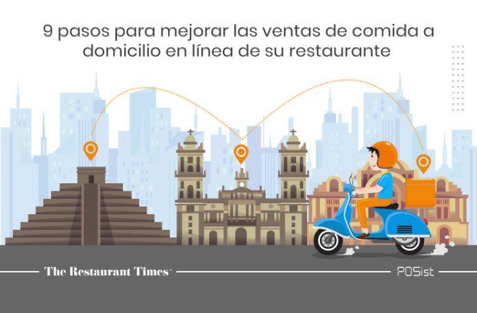 9 pasos para mejorar las ventas de comida a domicilio en línea de su restaurante