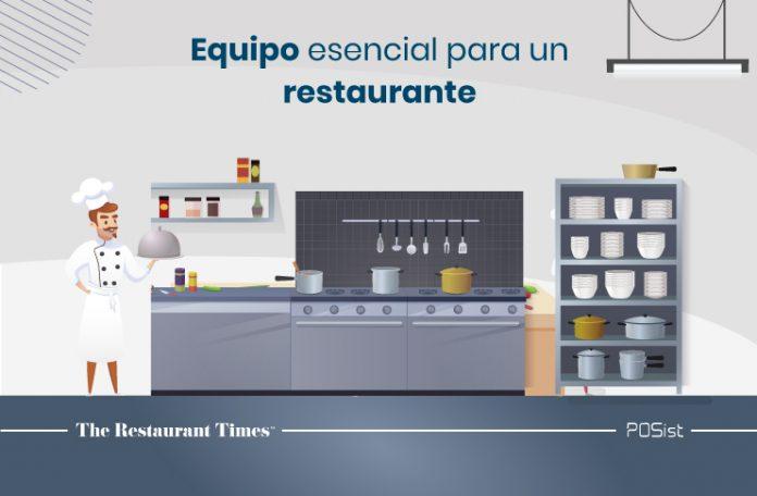 Tipos de equipos esenciales para restaurantes sin los cuales no puede administrar su restaurante