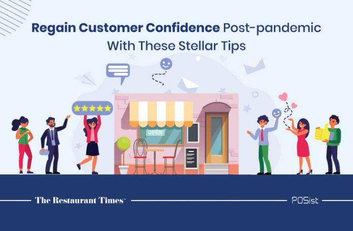 Restaurant marketing tips to regain customer confidence