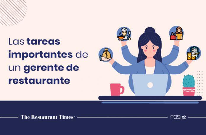 Lista de verificación de tareas esenciales del gerente de restaurante para agilizar las operaciones diarias del restaurante.