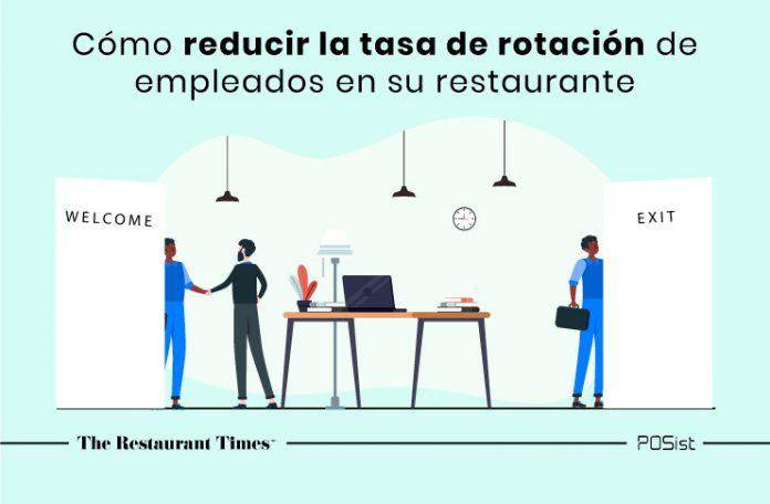Una guía sobre cómo reducir la tasa de rotación de empleados en su restaurante