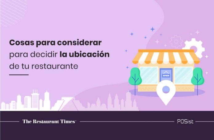 Selección de sitio de un restaurante: 7 cosas para considerar para decidir la ubicación de tu restaurante